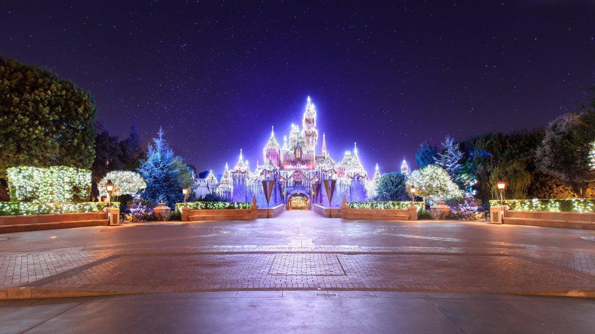 Sleeping Beauty Castle Holidays