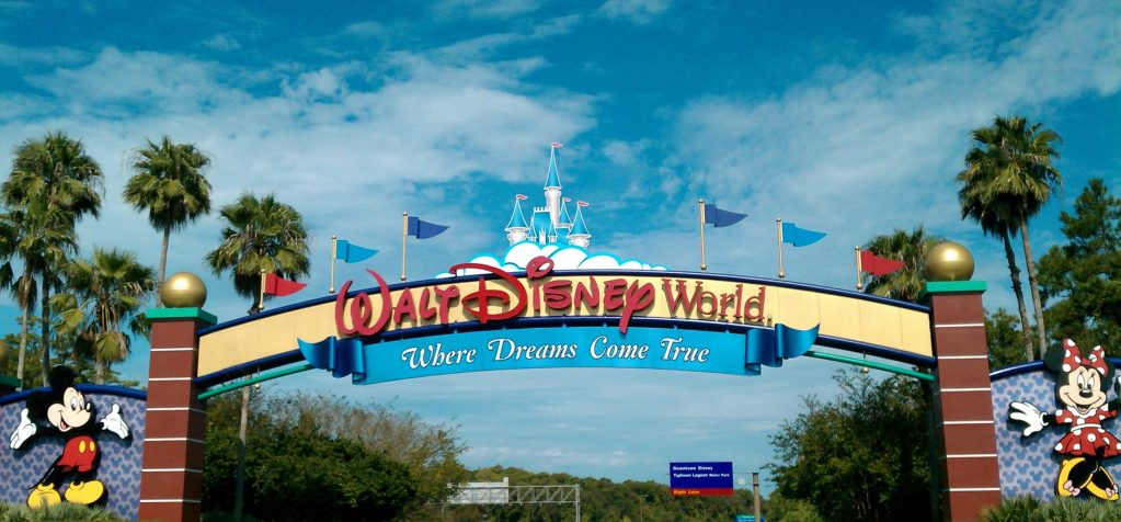 Walt Disney World Welcome sign, welcome home!