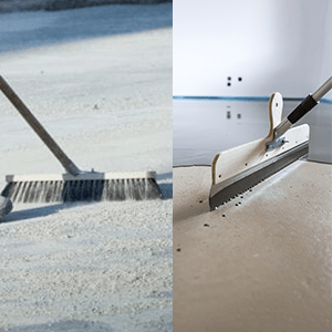 Concrete Brooms, Brushes, Squeegees