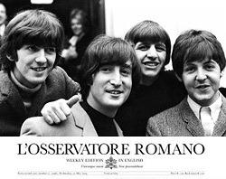 Beatles in L'Osservatore Romano