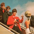 John, Ringo and Paul de-planing.