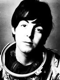 McCartney in spacesuit