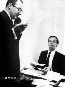 Brian Epstein and Nat Weiss from What if Brian Epstein Lived? on Hey Dullblog