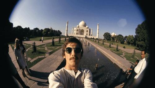 George and Taj Mahal, 1966