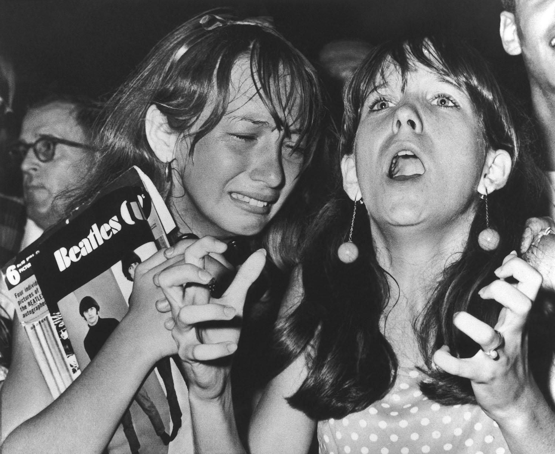 USA Beatles Fans Girls