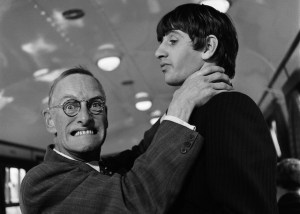 Brambell choking Ringo