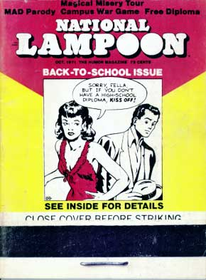 National Lampoon October 1971