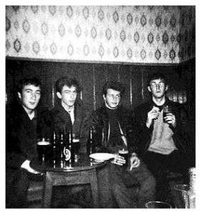 Beatles Spring 1961 The Grapes