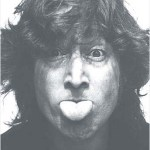 Lennon tongue out