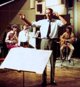 Martin conducting All You Need Is Love