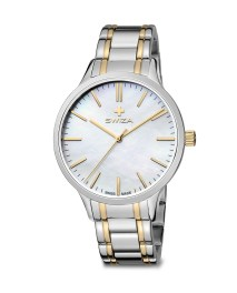 SWIZA Stella Lady watch, metal strap