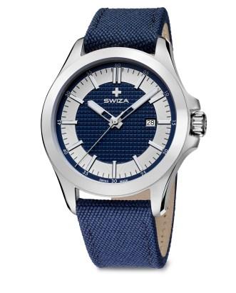 SWIZA Urbanus Swiss watch blue