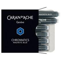 Caran D'Ache Chromatcs nk cartridge magnetic blue