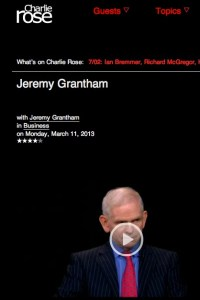 Jeremy Grantham