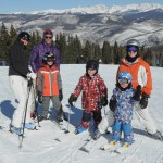 Family and friends ski day @ The Beav