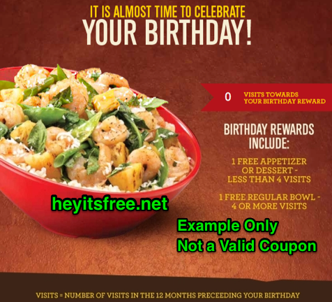 graphic about Yoshinoya Coupons Printable named Yoshinoya Birthday Freebie