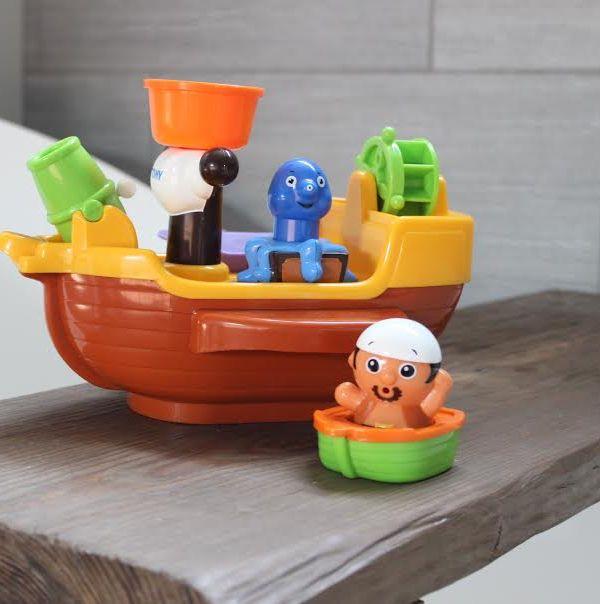 Bath Time Fun with Tomy Toomies