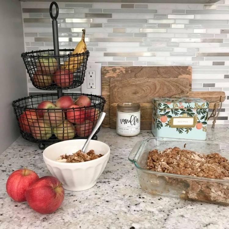 apple crisp fall family traditions