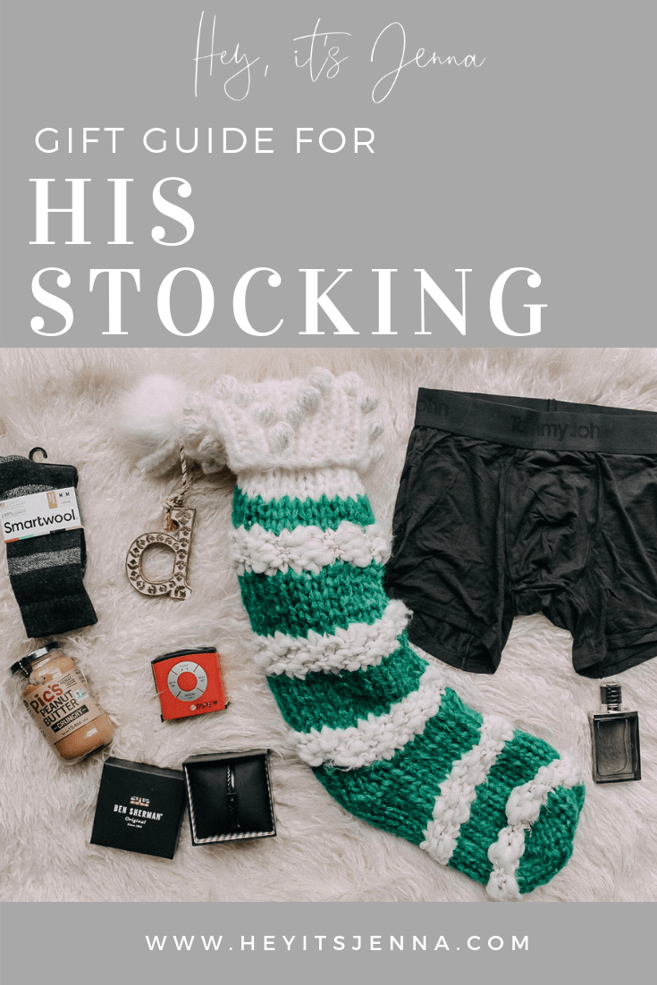 chrismtas gifts for him, his stocking