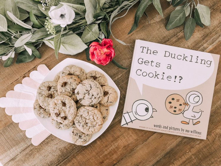 Mo willems pigeon duckling cookie recipe