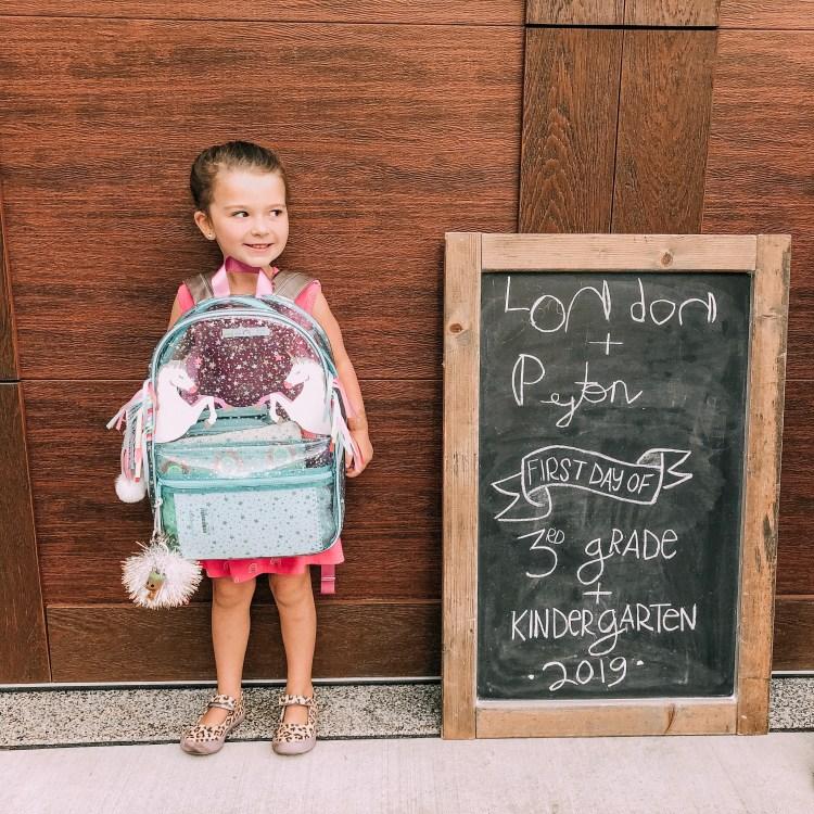 first day of school heyitsjenna