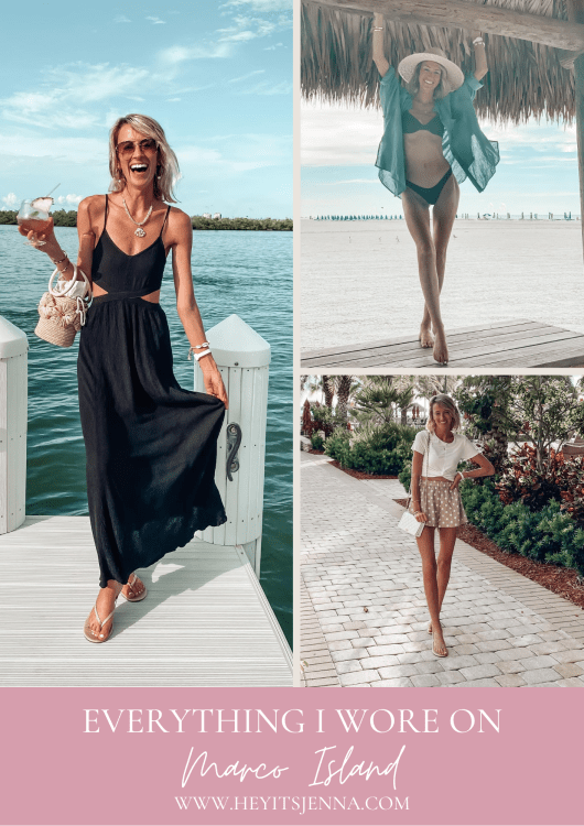 everything I wore on marco island