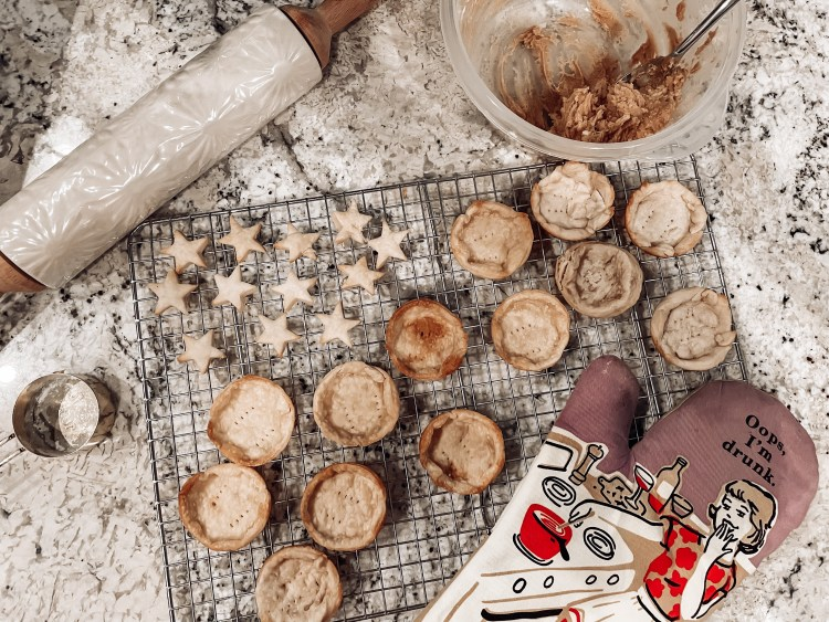 what to make with a pie crust christmas recipes