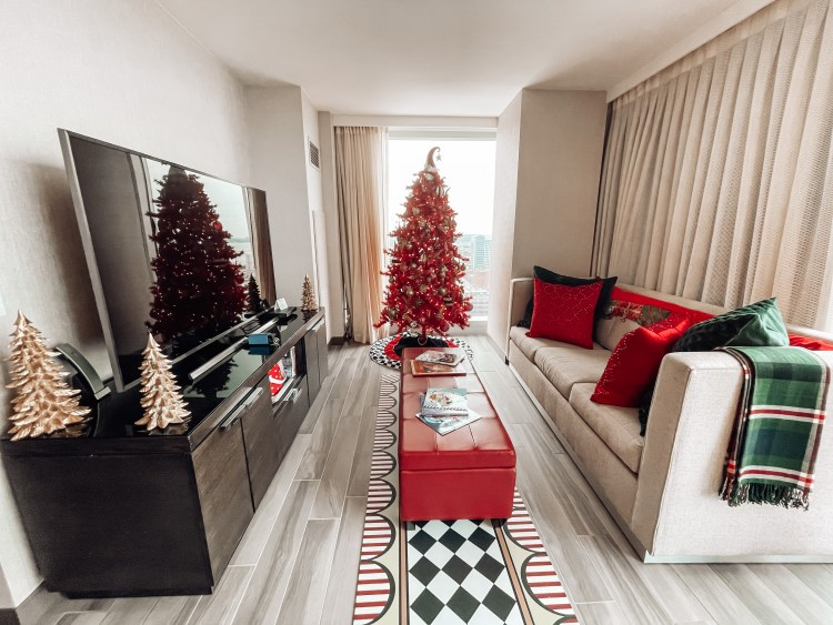holiday magic cleveland hilton mr kringle suite christmas family fun