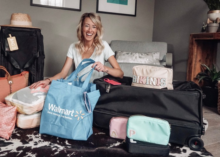 vacation travel planning walmart packing tips