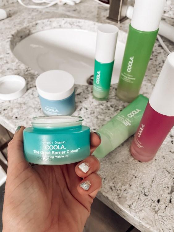 coola's skincare lineup barrier cream