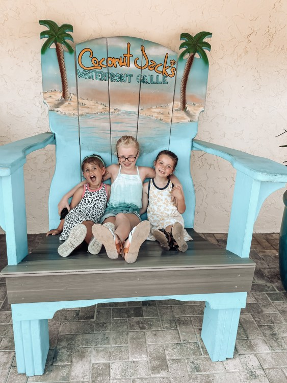 coconut jack's photo op blue chair bonita springs