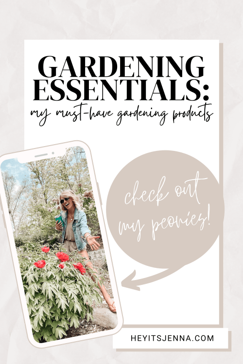 garden must haves for gardening planting flowers, peonies