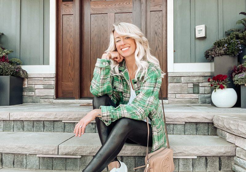 5 Ways to Wear Faux Leather Leggings