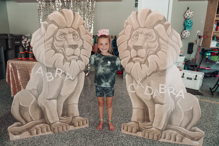 magical party lion party magician show magic birthday party theme