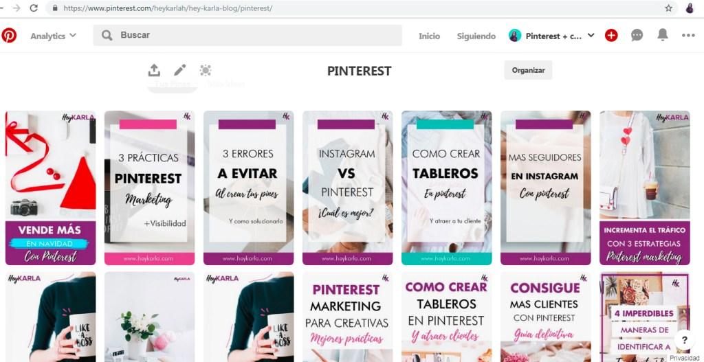 Como usar pinterest si no tienes un blog