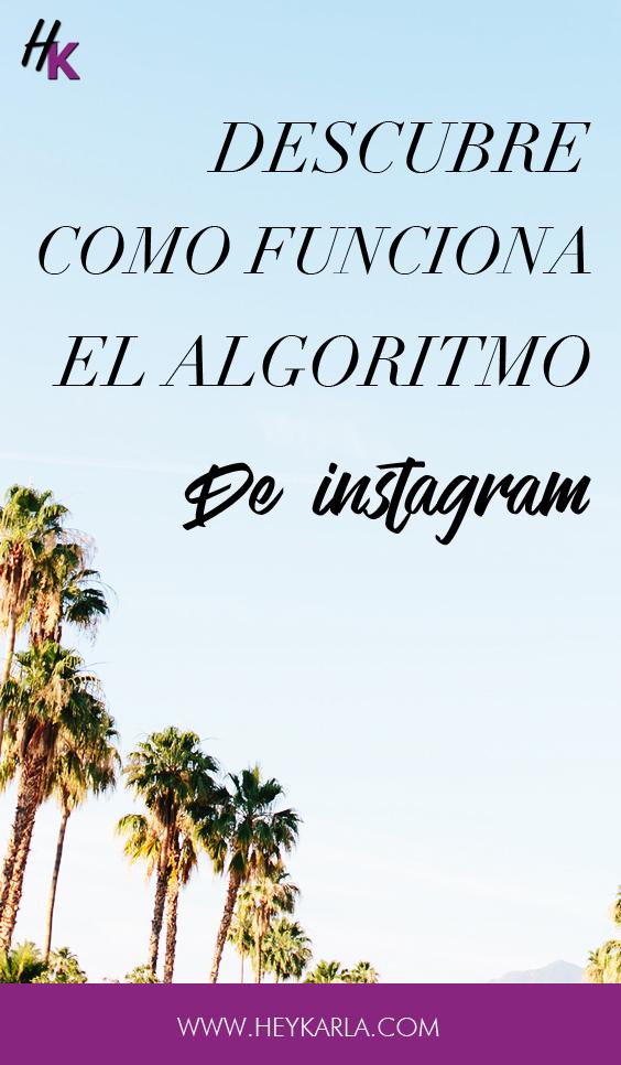 Como funciona el algoritmo de instagram