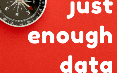 Ep 1: Introducing the Just Enough Data Podcast with Karyn Kelbaugh and Maggie Hodge Kwan