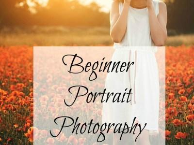 Beginner Portrait Photography Tips