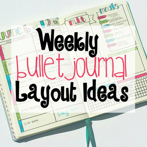 BuJo Mojo Week 2 Linky Party