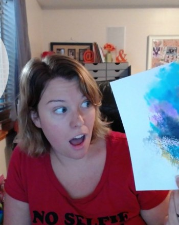 VEDA Day 12: Create Stunning Paintings with Watercolor Markers