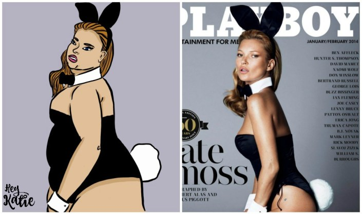 Body Issues - An Art Project featuring reimagined magazine covers.