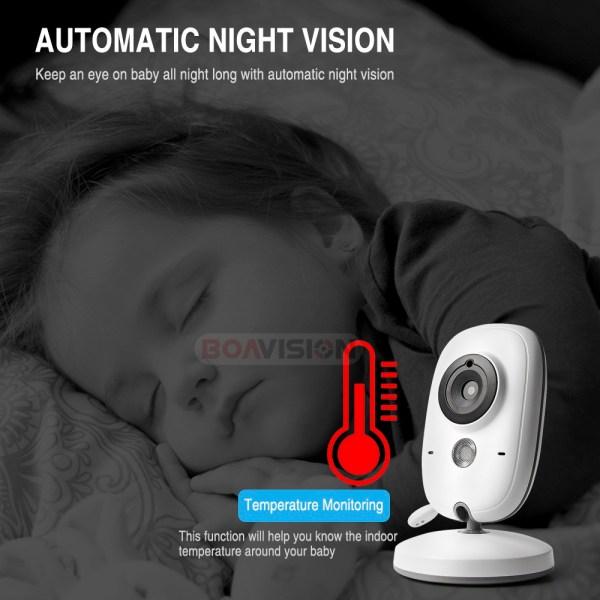 Baby Monitor - Vision nocturne pour surveiller son enfant dans l'obscurité