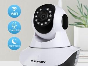Caméra sans fil surveillance bébé : communication bidirectionnelle, vision nocturne, WIFI