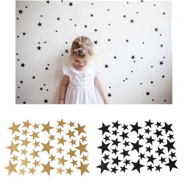 Stickers étoiles pour déco chambre enfant fille