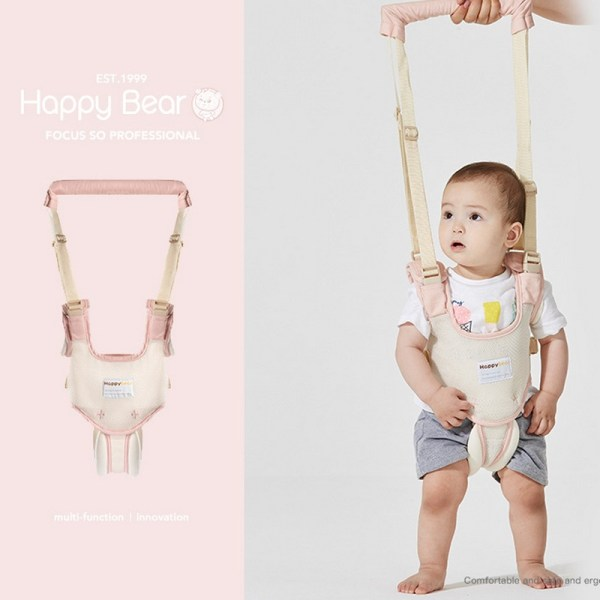 Harnais bébé rose