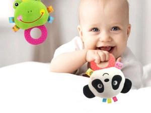 Hochet peluche pour bébé