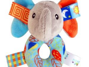 Hochet bébé - Thème Éléphant