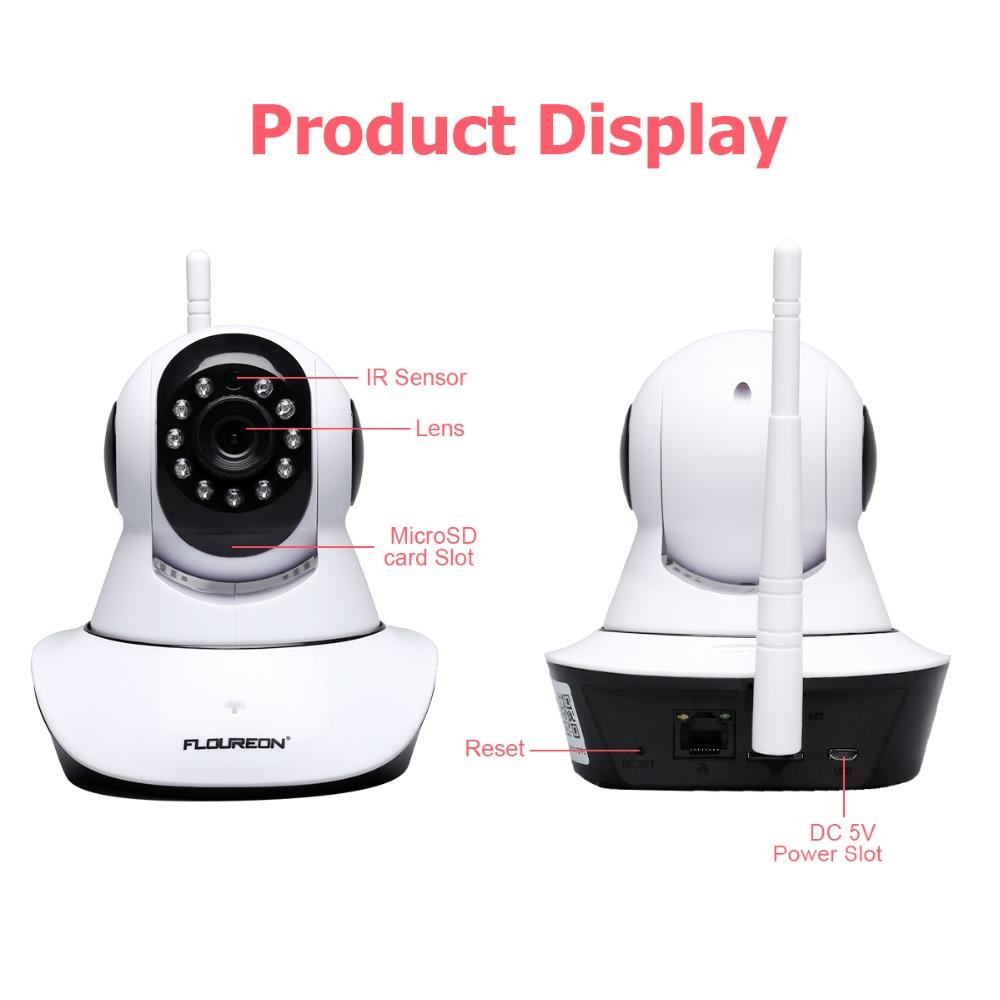Caméra sans fil pour surveiller bébé dans la maison