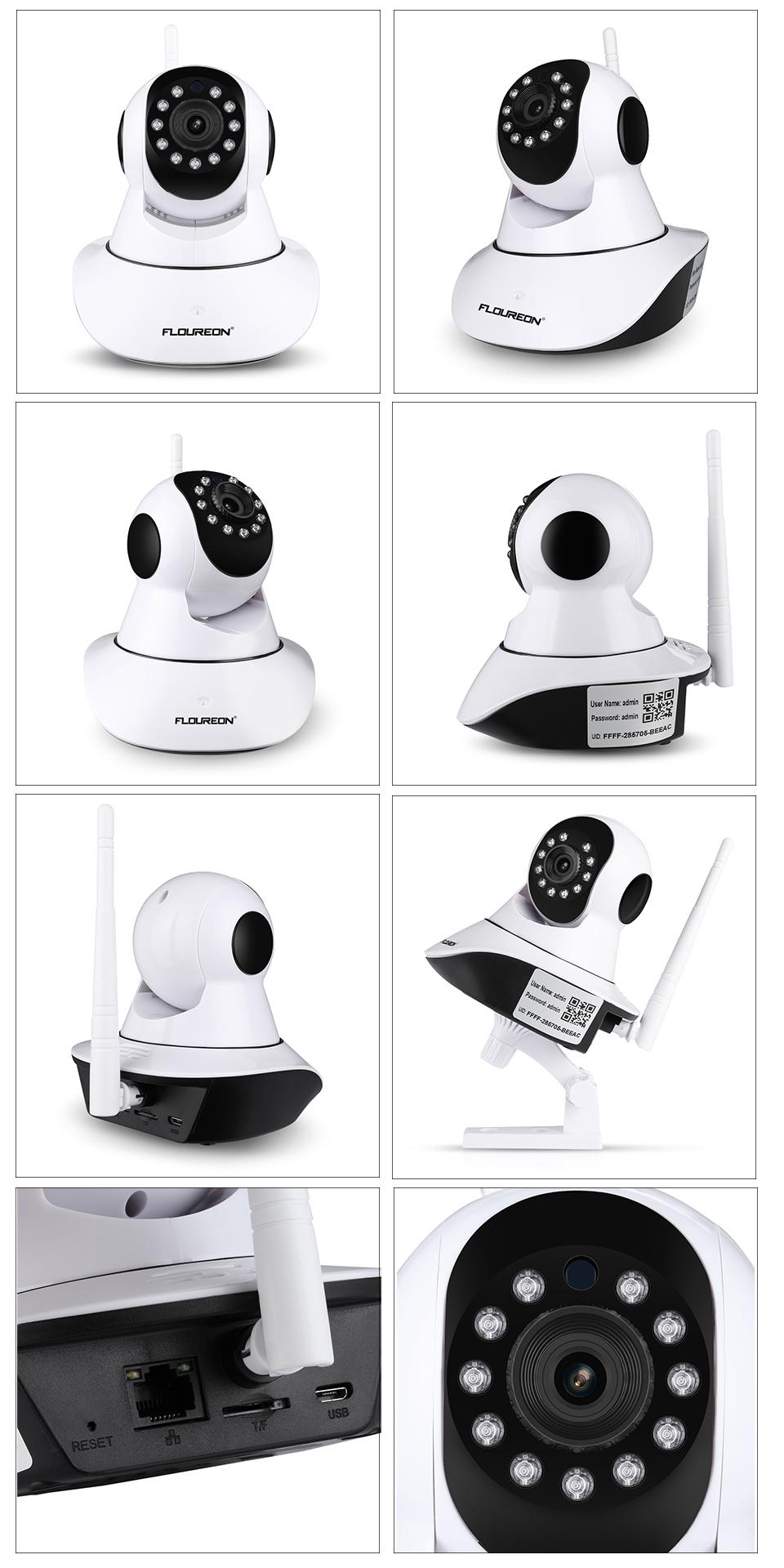 Vues Caméra sans fil pour surveiller bébé