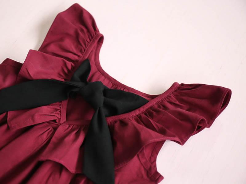 Jolie robe fille LOLITA avec nœud